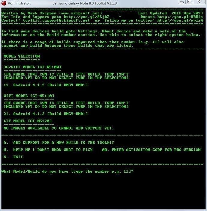 PC-Tool] Galaxy-Note-Root-Toolkit (Treiber, Root, Recovery, Backup