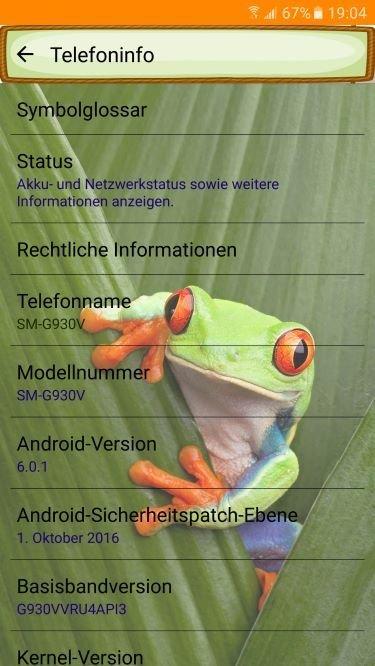 Samsung Galaxy S7 (SM-G930V) - find my mobile Einstellung