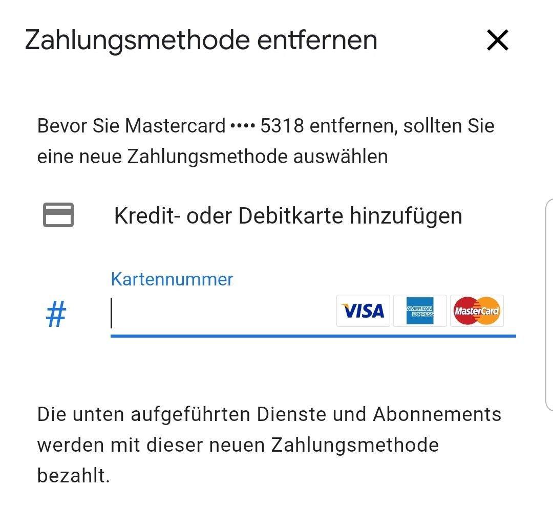 google play kreditkarte
