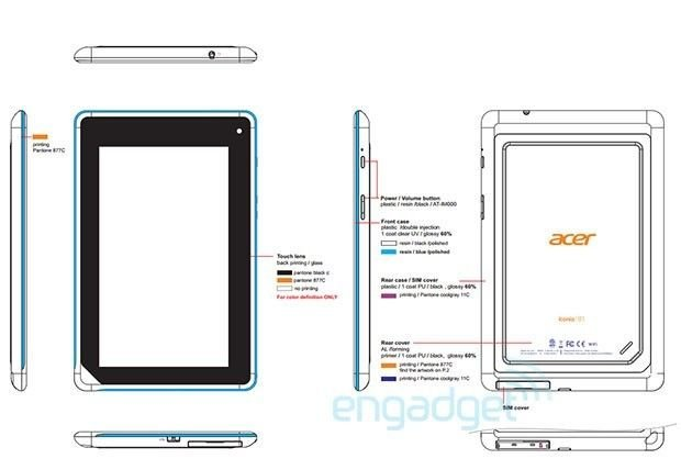 Acer Iconia B1 A71 Tablet 12 20