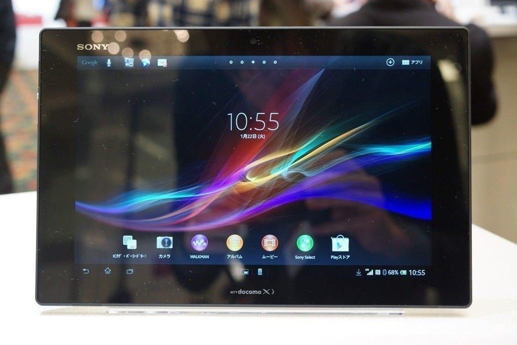 sony xperia tablet z neues ultraschlank ger t im hands on mit video android. Black Bedroom Furniture Sets. Home Design Ideas