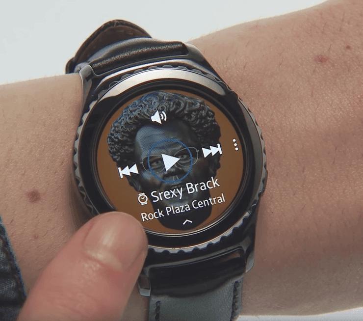 Keine Optionen im MP3 Player - Samsung Gear Sport Forum
