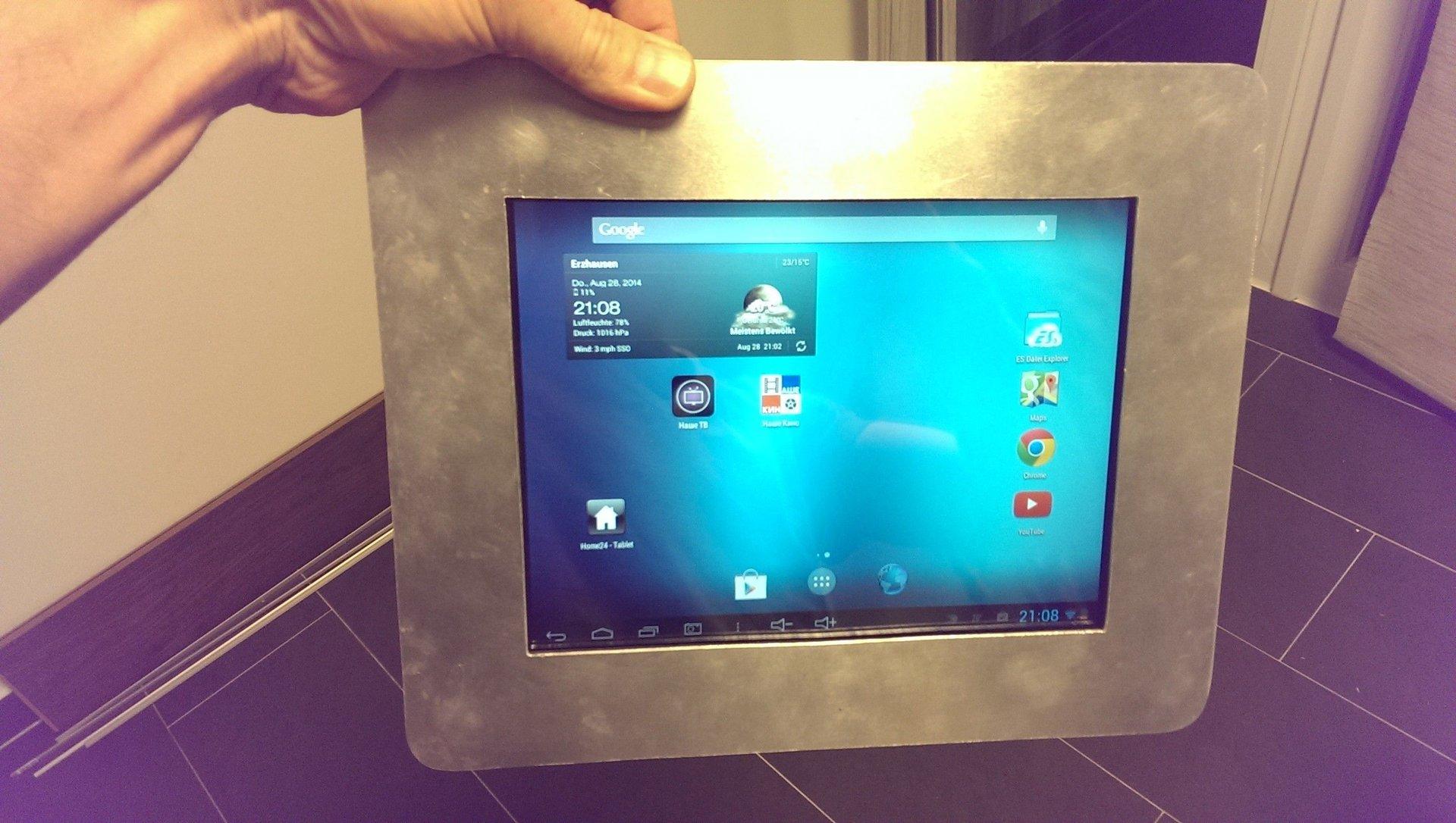 tablet pc wandeinbau abdeckung ablauf dusche. Black Bedroom Furniture Sets. Home Design Ideas