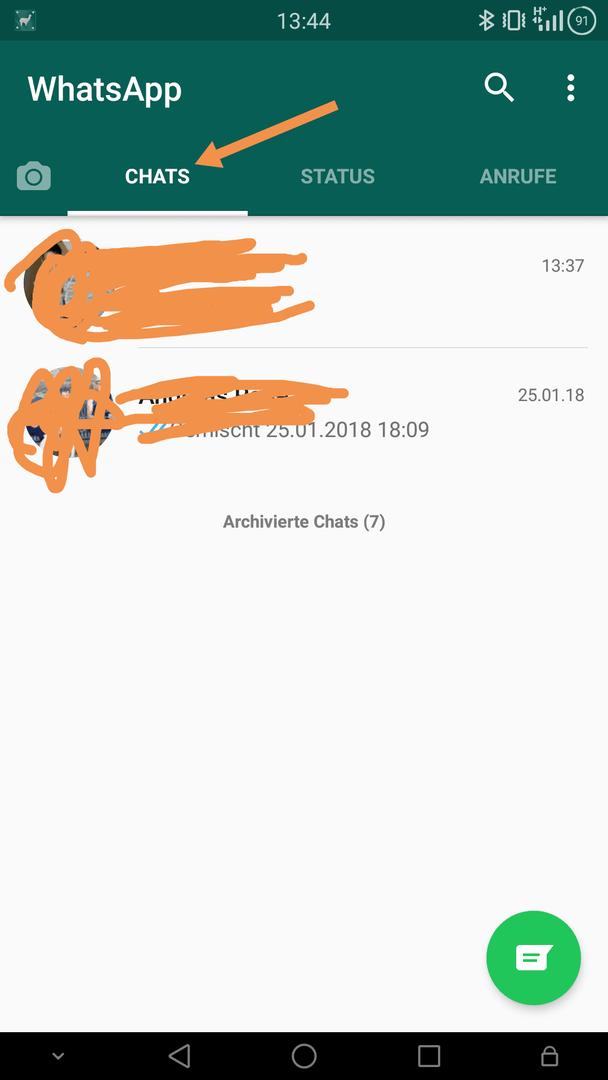 Häufig Genutzte Kontakte In Whats App Löschen Huawei Apps Und