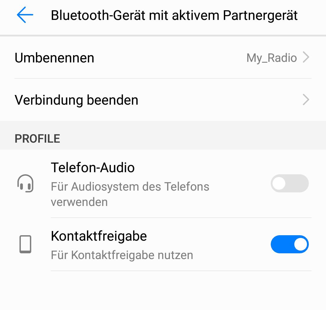 Handy Mit Dem Autoradio Verbinden Huawei P10 Lite Forum Android