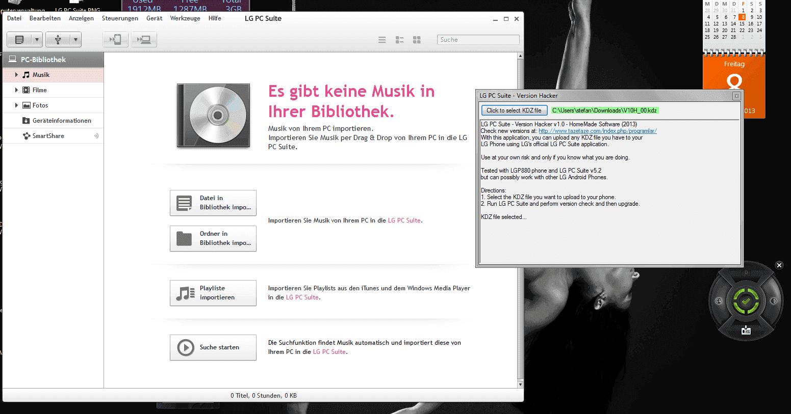 ANLEITUNG] LG PC Suite Version Hacker - Flashe deine KDZ-Dateien mit