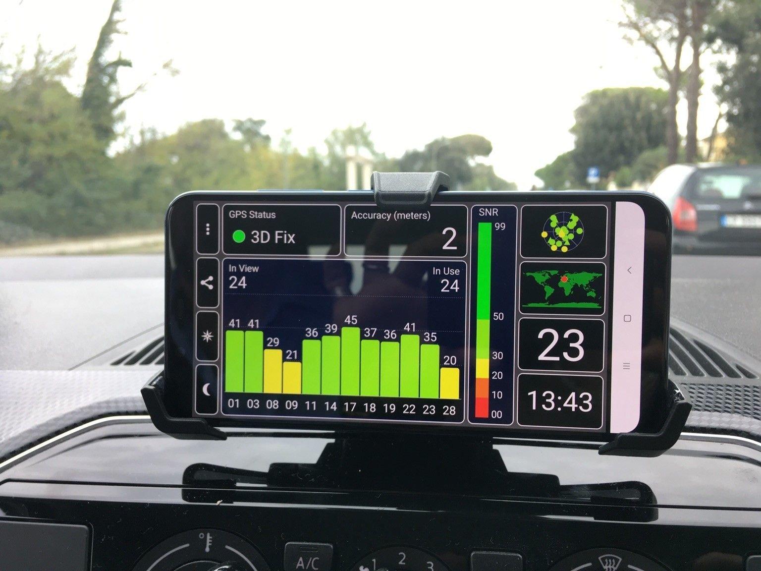 Mi 8 Dual GPS Genauigkeit - Seite 2 - Xiaomi Mi8 Forum – Android