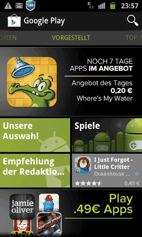 was heißt android auf deutsch