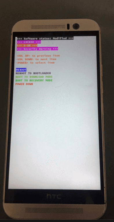HTC ONE LOCKED S-ON Security Warning - Root / Custom-ROMs