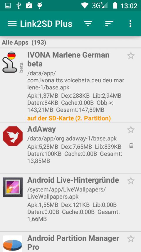Apps Auf Sd Karte Verschieben Android 5.Zte Blade L3 Speicherkarte Zum Auslagern Von Inhalten Aus Der