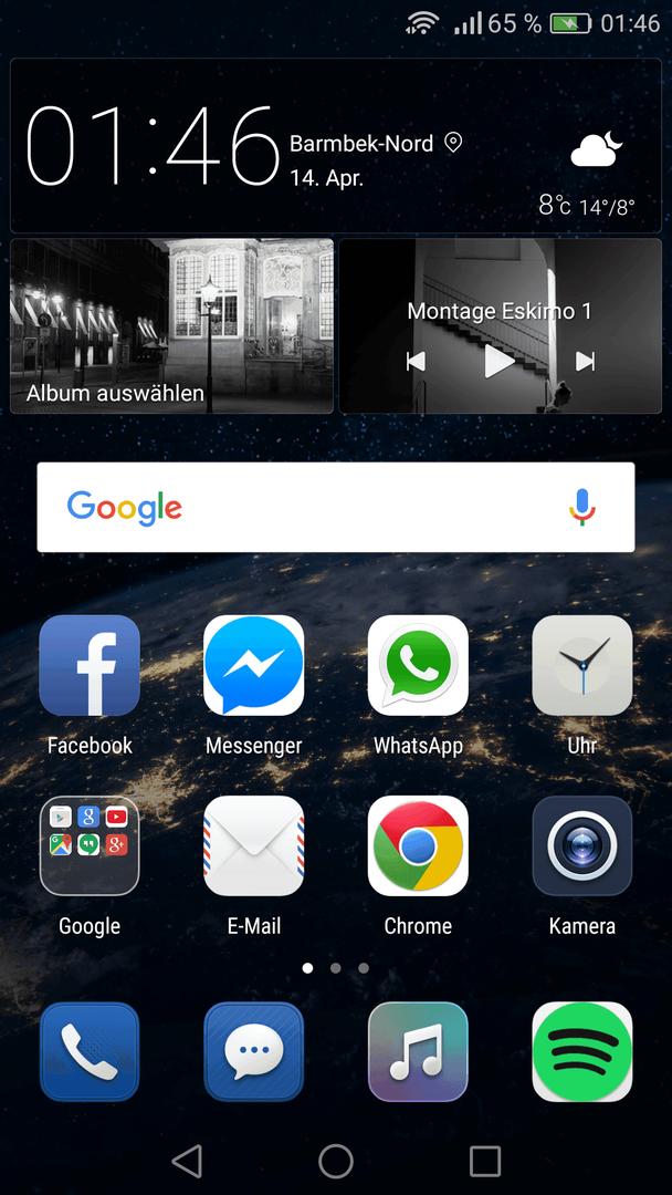 Huawei hintergrund app