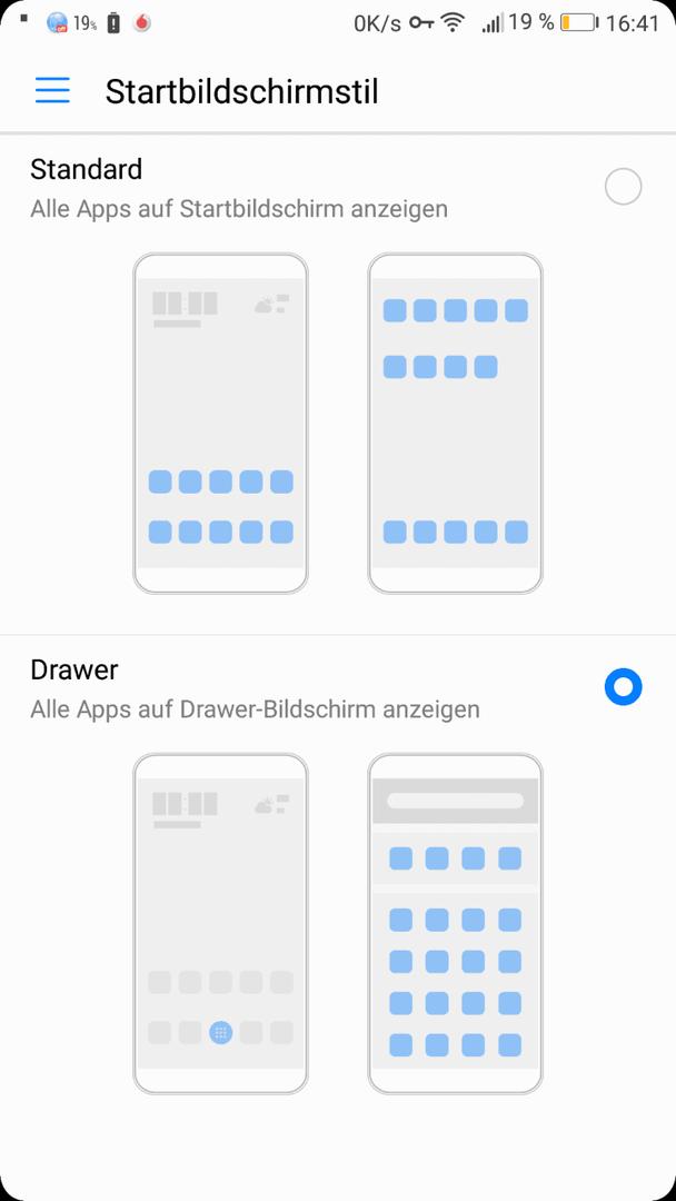 Huawei P10 lite - Apps (Symbole) vom Screen löschen - Huawei P10 ...