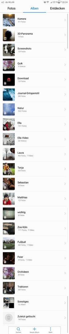 Galerie App Zeigt Keine Bilder An Cloud Huawei Huawei Mate 9