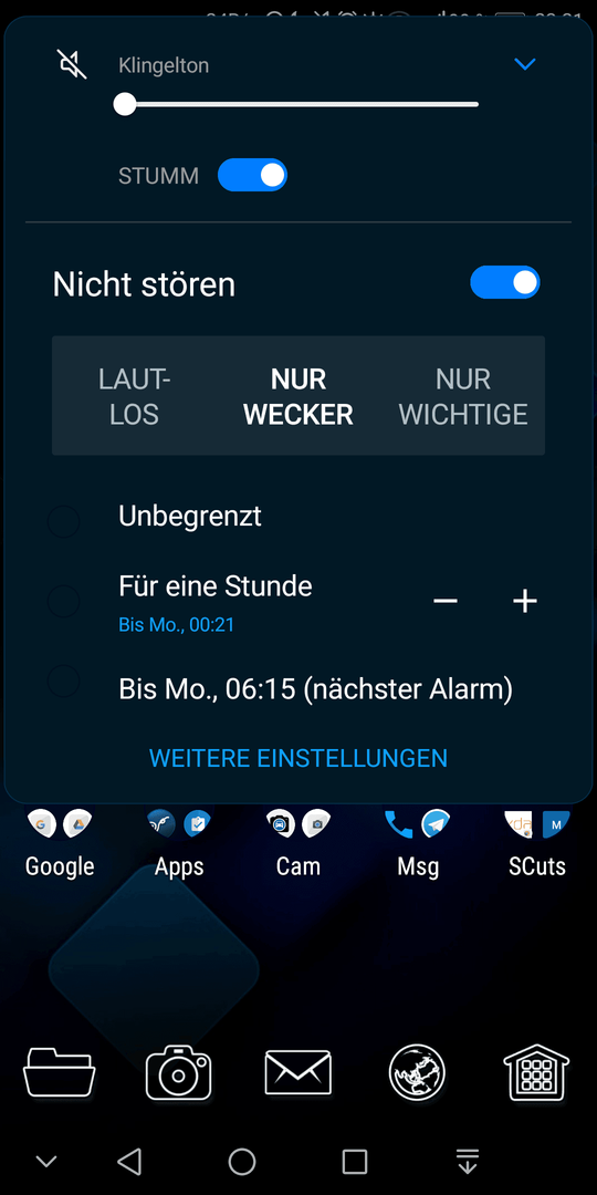 android system ui demo mode