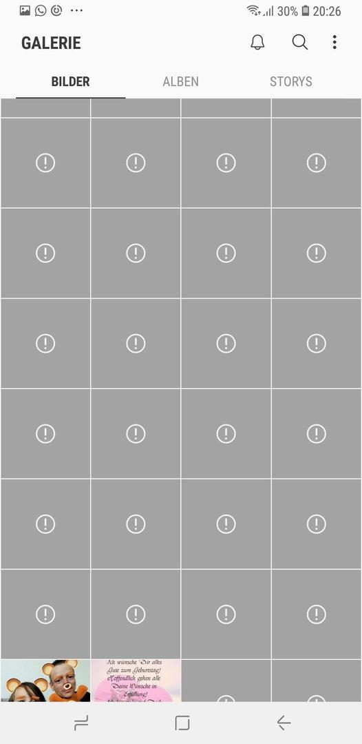 Fotos Werden Nicht Angezeigt Samsung Galaxy Note 8 N950 Forum