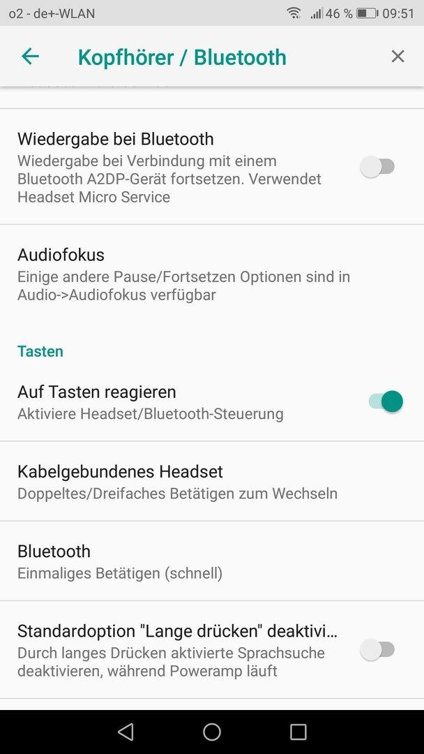 PowerAmp V3 B815 - Knöpfe von Headsetz gehen nicht mehr - Foto und