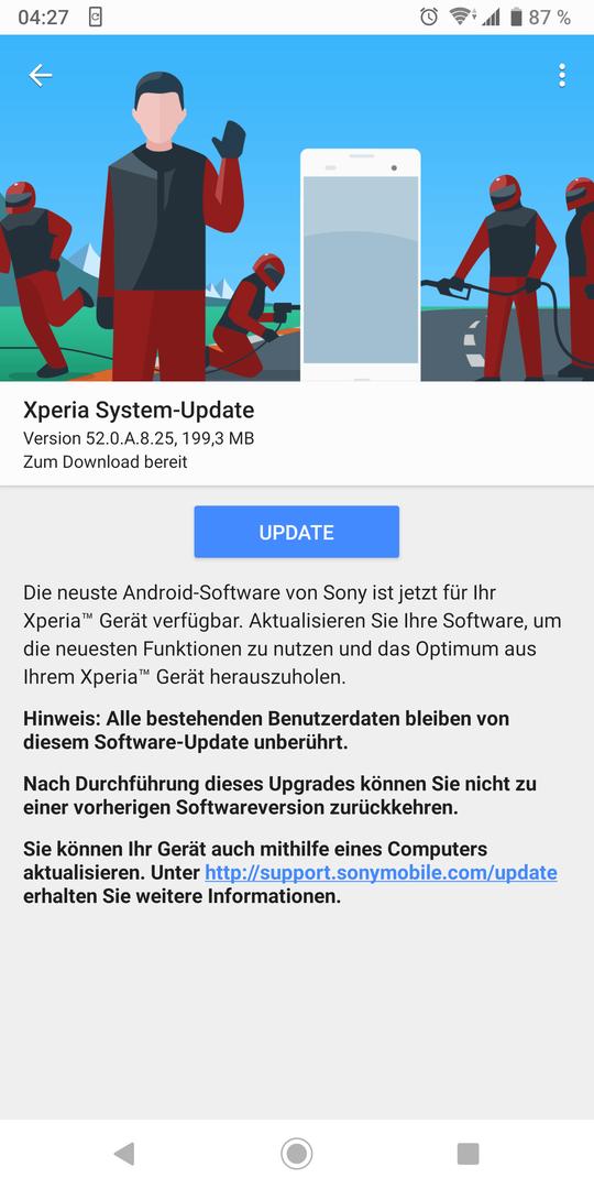 Diskussionsthread 52 0 A 8 25 (Android9) - Original-Firmwares für