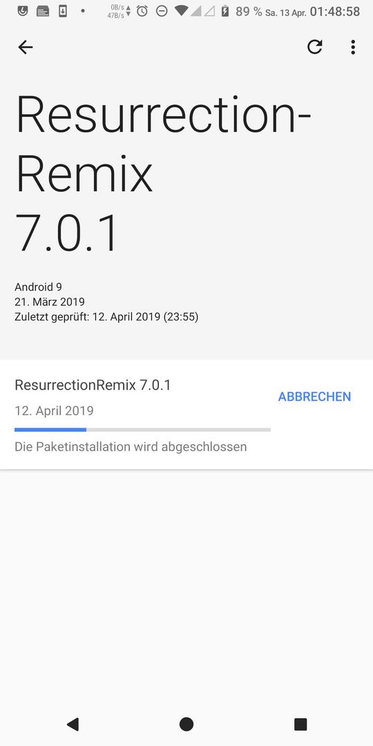 Android Vibrationsstärke