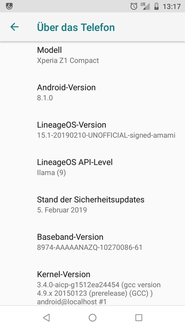 LineageOS 15 1: Touchscreen stürzt ab - Root / Custom-ROMs