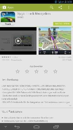 Sygic Truck Navigation - Sygic – Android-Hilfe de