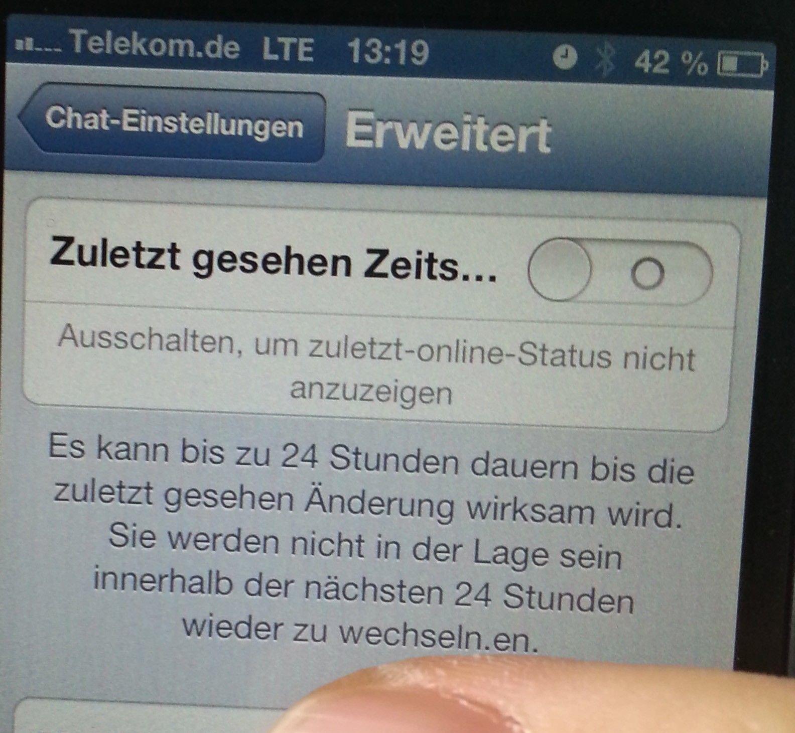 Whatsapp Zuletzt Online Uhrzeit Manipulieren Whatsapp