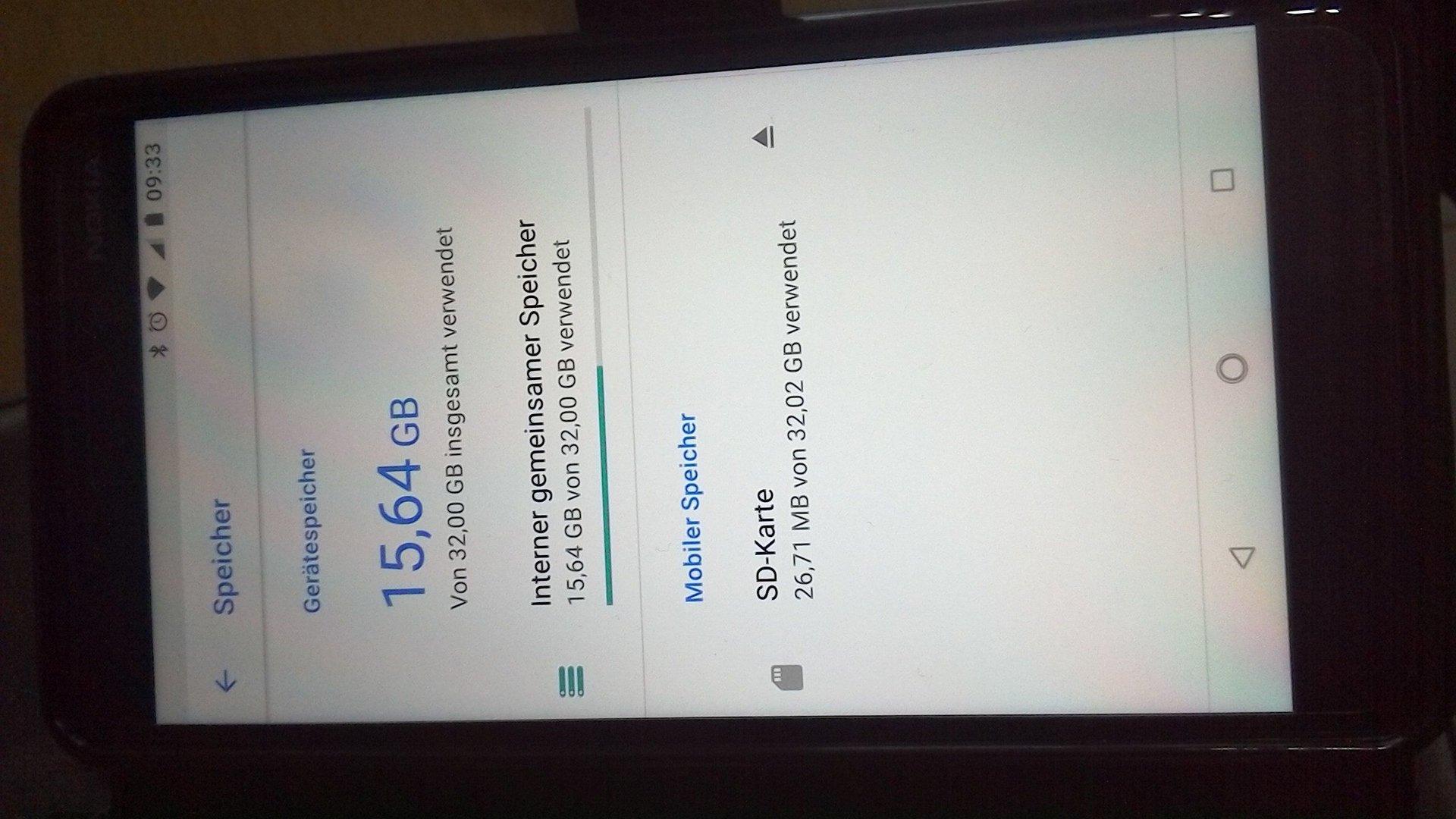 Sd Karte Als Standardspeicher Einstellen.Nokia 6 2018 Wie Kann Ich Apps Auf Die Sd Auslagern Nokia 6 1