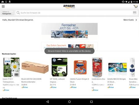 Amazon Video Hilfe