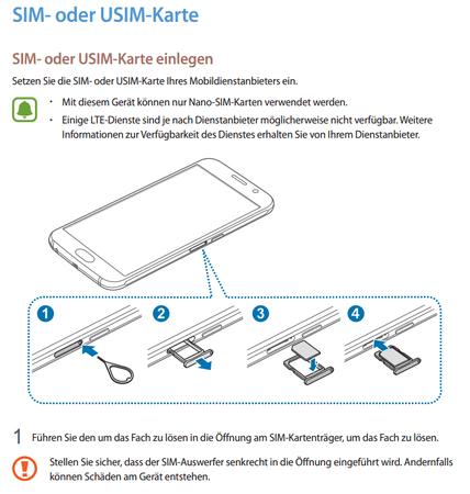 Samsung Galaxy S6 Edge Sim Karte Einlegen.Faq Galaxy S6 Sm G920f S6 Edge Sm G925f Welche Sim