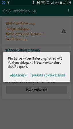 Fehlgeschlagen whatsapp umgehen verifizierung wartezeit Whatsapp verifizierung