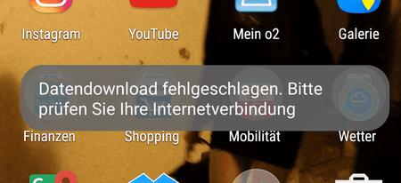 Download Fehlgeschlagen Android