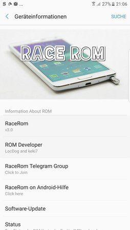 ROM][N910F][6 0 1][DBT] *22 03 2018* RaceRom N7 Port V14 - Samsung