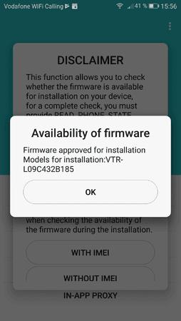 Firmware Finder B185 - Original-Firmwares für Huawei P10 – Android