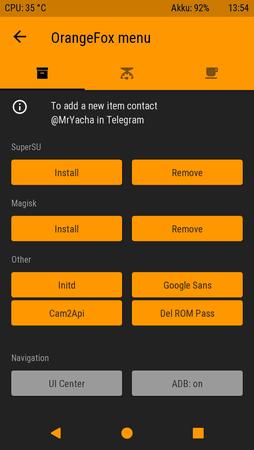 OrangeFox Recovery Project [Treble] [Santoni] - Das bessere