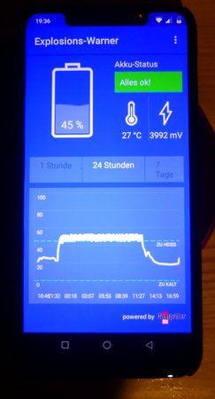 01 - UMIDIGI OnePro - Hitzeentwicklung -14.02.19 20.38 Uhr.JPG