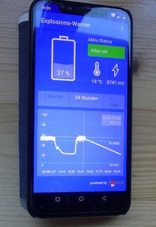 03 - UMIDIGI OnePro - Hitzeentwicklung -15.02.19 10.30 Uhr.JPG